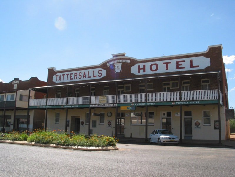 Tattersalls Hotel Baradine - Accommodation 4U